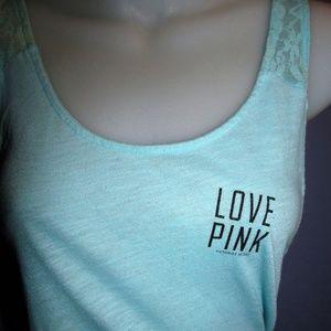 Victoria's Secret Pink racerback tank euc